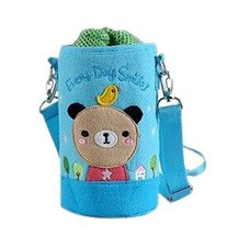 Lovely Kindergarten Funny Bear Bottle Messenger Bag (158.5CM)