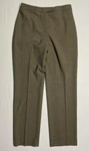 Ann Taylor Womens Size 8 (29 X 31) Flat Front Chino Pants Straight Leg Wool - $10.26