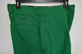 POLO RALPH LAUREN men's emerald green rave party lollapalooza chino pant... - $31.47