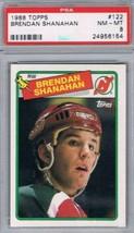 1988-89 Topps #122 Brendan Shanahan PSA 8 NM-MT Rookie Card NJ Devils - $29.65