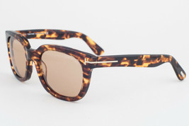 Tom Ford Campbell Tortoise / Brown Sunglasses TF198 52J 53mm - $293.02