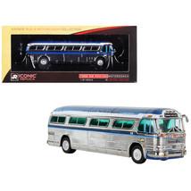 1959 GM PD4104 Motorcoach #22 Turismo Santa Rita (Sao Paulo) Chrome Vint... - $49.05