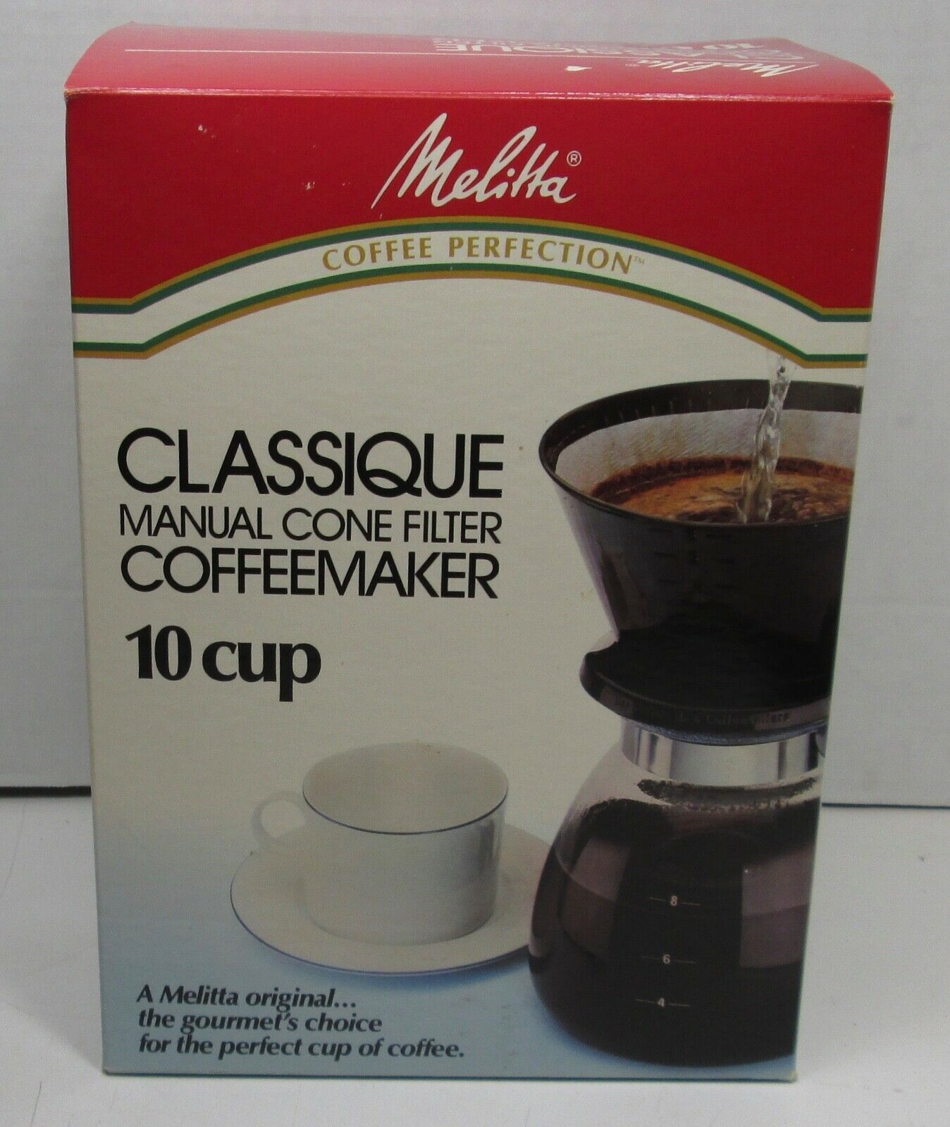 Melitta Coffee Perfection Cone Filter Coffeemaker 10 Cup - New - $28.49