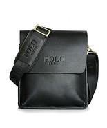 POLO FEILUN Men's Messenger Bags Classic Vintage Leather Shoulder Crossb... - $63.23