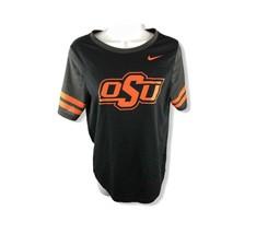 Nike OSU Womens Size Medium Black & Orange College -Ncaa Shirt - $19.42