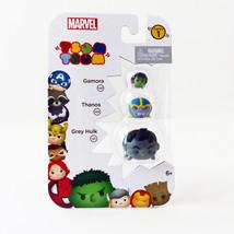 Disney Marvel Tsum Tsum Vinyl Figure 3 Pack Series 1 (Gamora, Thanos, Gr... - $4.00