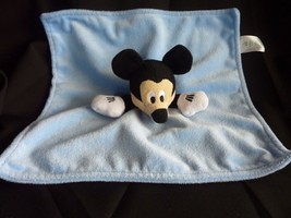 Disney Baby Mickey Mouse Light Blue Lovey Security Blanket - $22.49