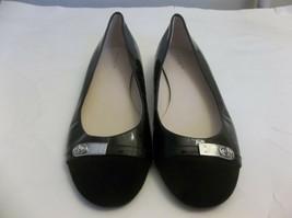 Coach Dianah Ballet Flats Shoes Sz. 39 8.5 - 9 Black Patent Leather - $34.65