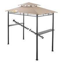 """BBQ Gazebo Tent Replacement Canopy Base Dimension 95"""" x 46.5"""" Frame Not ... - $49.49"""