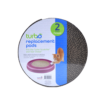 Turbo Scratcher Replacement Pads, 2 Pack New Free Shipping  - £5.84 GBP