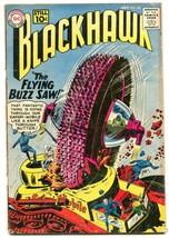BLACKHAWK #162 1961-DC COMICS-FLYING BUZZ SAW!!! SCI FI G - $14.55