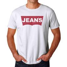 Tee Bangers Jean's Men's White T-shirt NEW Sizes S-2XL - $9.89+