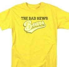 Bad News Bears T-shirt distressed logo 1970's movie retro cotton tee  PAR131 image 1