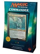 Magic The Gathering MTG Commander 2017 Deck - Feline Ferocity - $106.95
