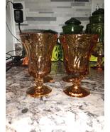 Jamestown Amber 4 oz.. Juice Goblets  - $38.00
