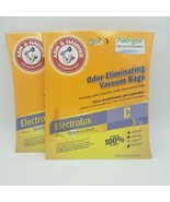 2-Count Arm & Hammer Electrolux C Odor Eliminating Vacuum Bags 62617G NEW - $11.09