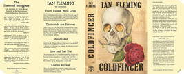 Fleming-Facsimile dust jacket for 1st 1959 UK edition of GOLDFINGER - $21.56