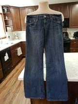 American Eagle women's favorite boyfriend style size 4 blue denim stretch short - $6.80