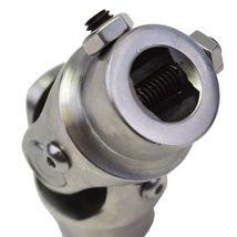 "Stainless Steel Yokes Steering Shaft Universal U-Joint 3/4"" 30 Spline To 3/4"" DD image 8"