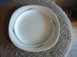 Mikasa salad plate (Caviar) 6 available - $5.89