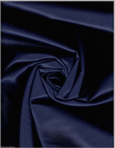 Ultrafabrics Brisa Ink Navy Blue Faux Leather Upholstery Fabric 2.75 yar... - $94.05