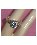 Sterling Silver Bold Simulated Diamond CZ Ring ... - $39.97