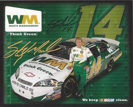 2006 STERLING MARLIN #14 WASTE MANAGEMENT NASCAR POSTCARD SIGNED - $11.00