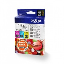 Brother LC163CL Cyan, Magenta and Yellow High Ink Cartridge (1pcs Each), LC163CL - $59.99
