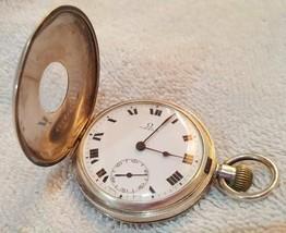 191819  hand-wound pocket watch hunter case - $1,467.74