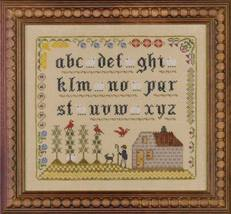 Lost Sheep Sampler cross stitch chart Elizabeth's Designs  - $8.10