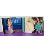 Lot of 2 Celine Dion Music CDs All The Way Greatest Hits New Day Has Come - $9.89