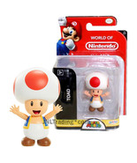 Year 2017 World of Nintendo Super Mario Series 2 Inch Tall Figure - TOAD - $24.99