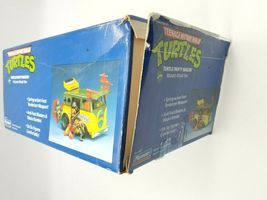 Teenage Mutant Ninja Turtles 1989 Party Wagon Mutant Attack Van In Damaged Box image 7