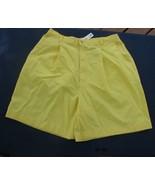 CABIN CREEK  size 12 Yellow shorts - $8.99