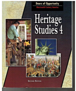 Heritage Studies 4 for Christian Schools Student Textbook 2nd Edition BJ... - $14.75