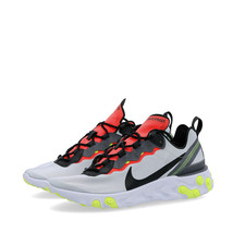 Nike React Element 55 - Mens Trainers Grey / Black Shoes - $221.31