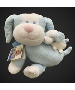 Kids Preferred Musical Plush Blue and White Dog with Puppy  - $29.69
