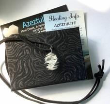 Azeztulite & Danburite Pendant with Certificate of Authenticity Gift Box - $16.82