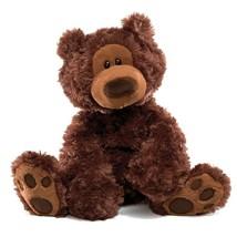 "GUND Philbin Teddy Bear Stuffed Animal Plush, Chocolate, 12"" 6047541 - $29.69"