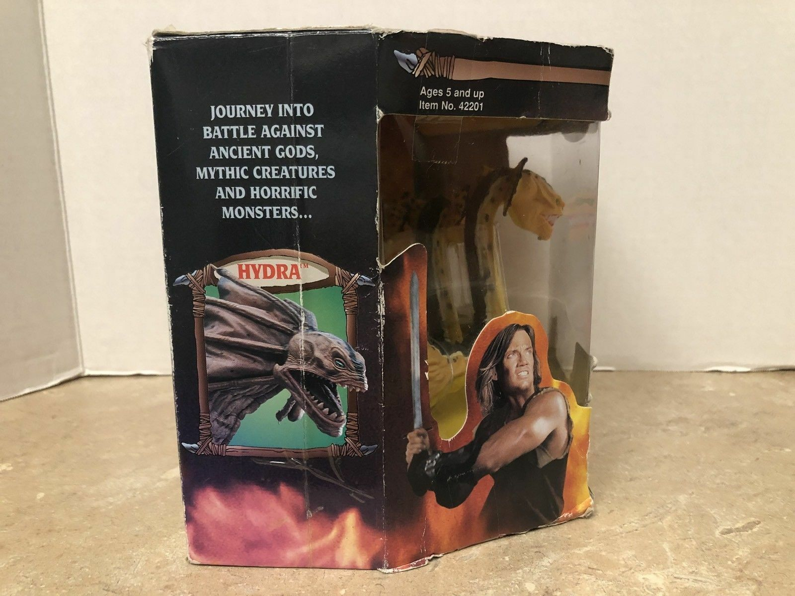 1995 Toy Biz Hercules HYDRA Creature Toy Action Figure New
