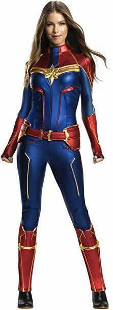 Rubiesl Grand Héritage Capitaine Marvel Adulte Femmes Halloween Costume 701058