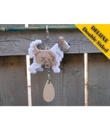 Chinese Crested Powderpuff Deluxe crate tag, hang anywhere, agility dog ... - $23.00