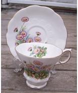 Royal Albert Dawn Tea Cup & Saucer Set Mint - $21.95