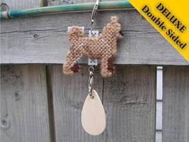 Chihuahua Smooth Coat Deluxe crate tag, hang anywhere, agility dog show kennel - $16.00