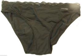 Calvin Klein  Black Bikini Panties D3503DS-001 S Small $20 - $15.00