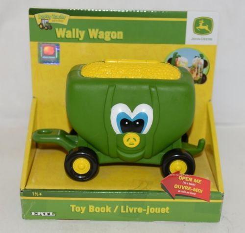 John Deere ERTL Johnny Tractor And Friends Wally Toy Book Wagon