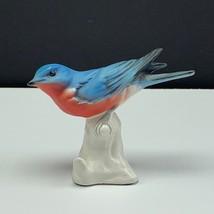 Goebel bird figurine W Germany statue sculpture hummel western bluebird ... - $39.55