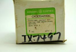 GE CR305X200C Auxiliary Contact Block Kit NEMA Size 2  New - $29.69