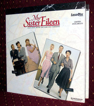 'MY SISTER EILEEN' x2— 1942 Comedy & WS Musical Remake on Mint PSE Laser Disc image 1