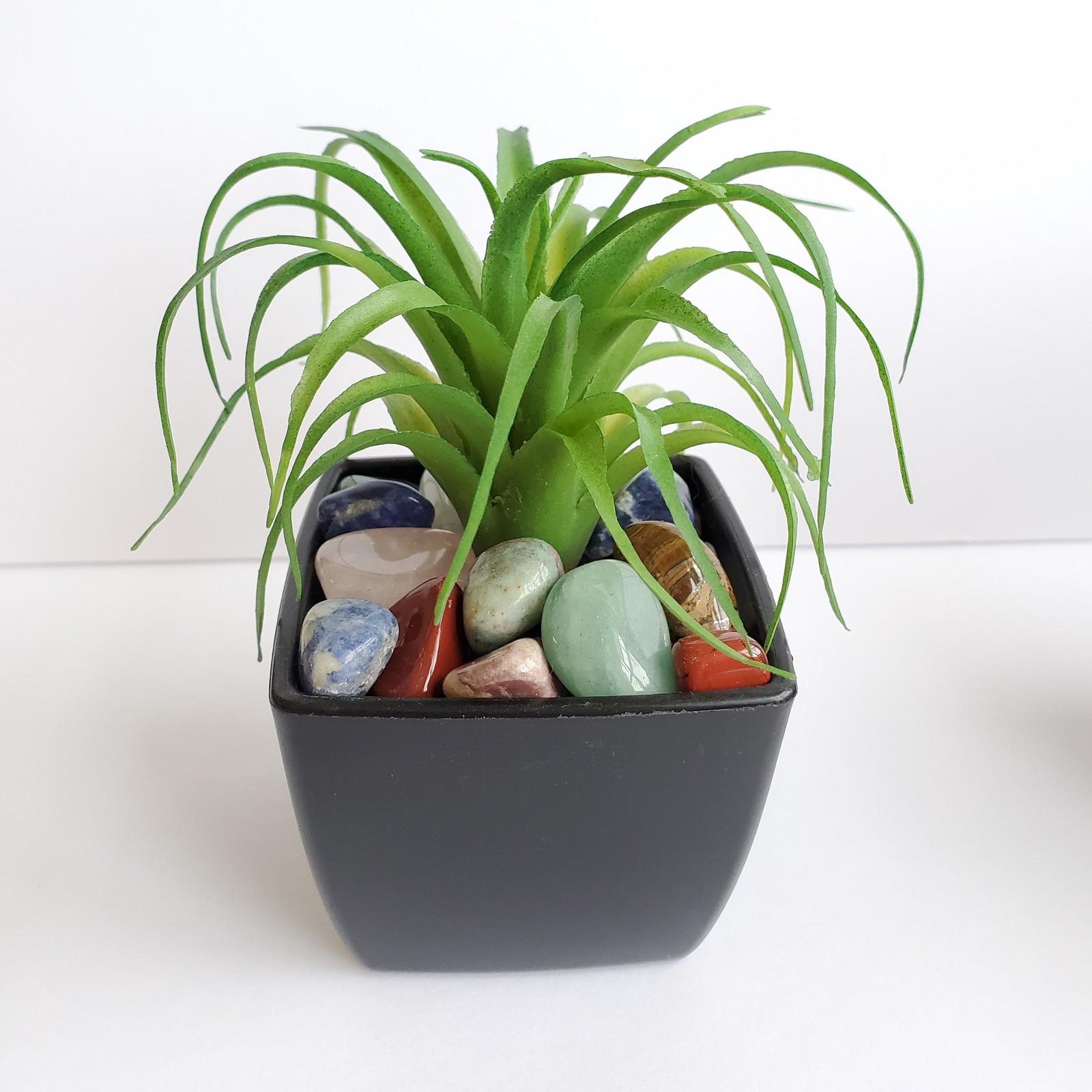 Fauxairplant polishedstones 1